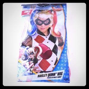 Harley Quinn Wig DC Super Hero Girls child size